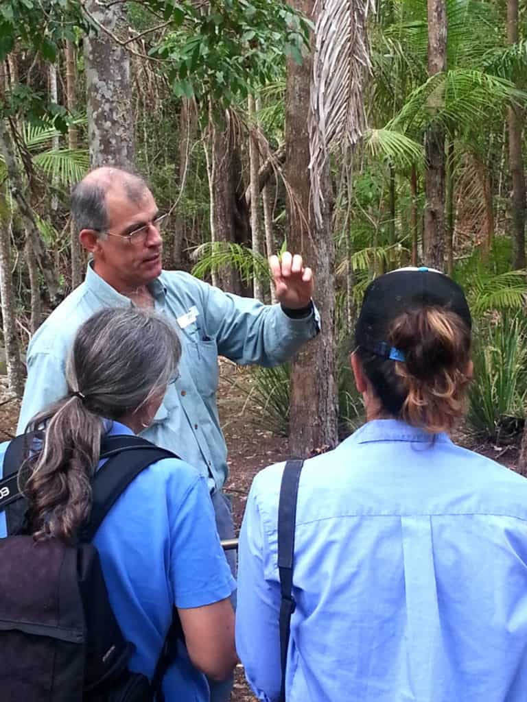 Greening Australia's Paul Ryan speaking to workshop participants