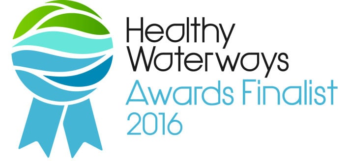 We are 2016 Healthy Waterways Awards Finalists!