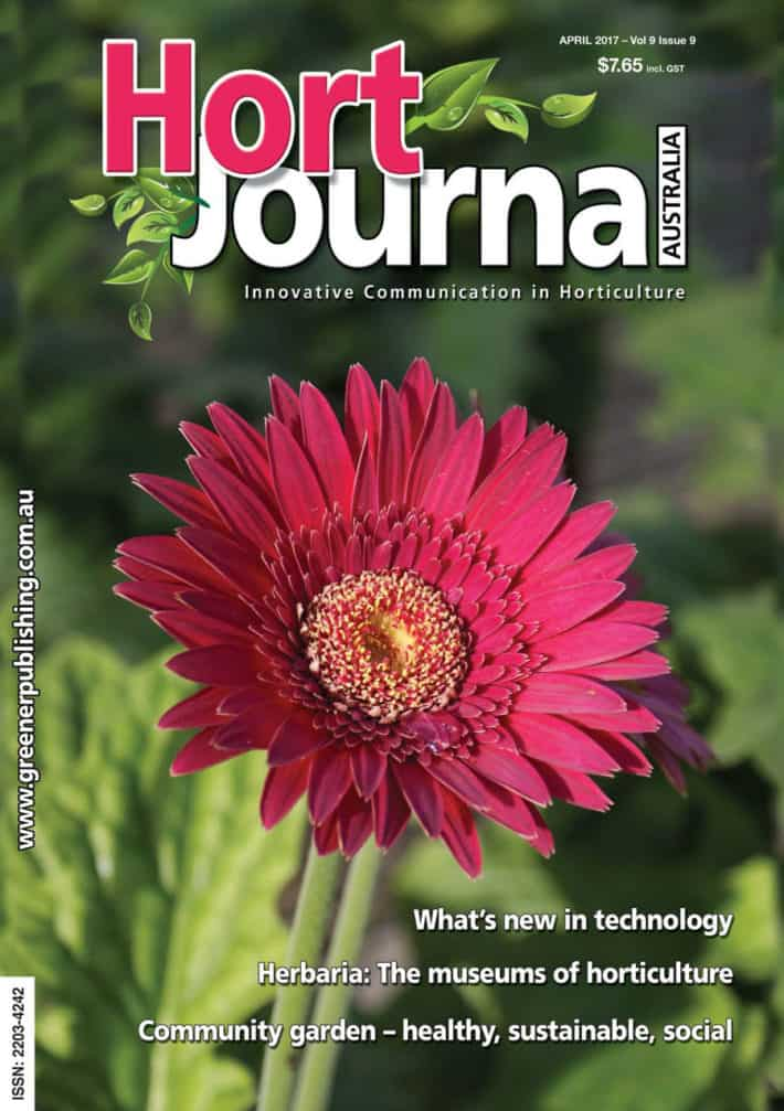 GroNATIVE is given a 'thumbs up' by Hort Journal Australia