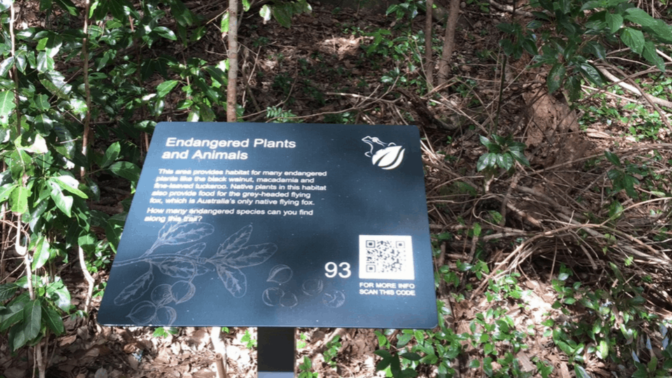 Interpretive Signage at Currumbin Valley Ecovillage